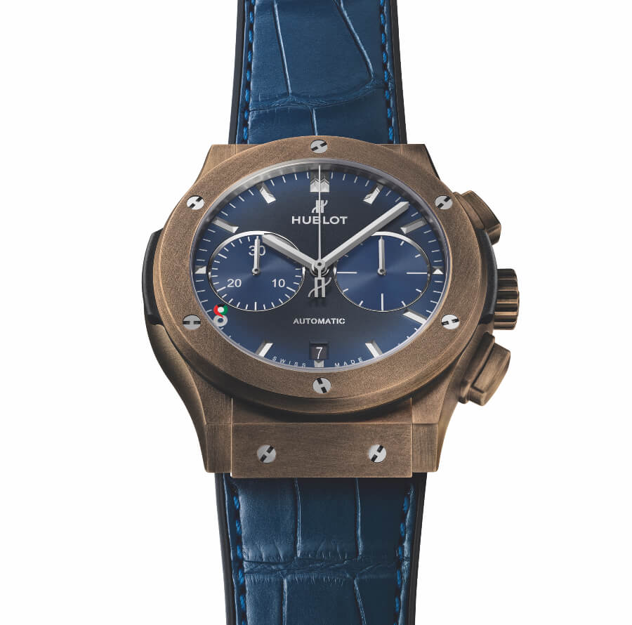 "The New Hublot Classic Fusion Chronograph 45mm Special Edition ""Kuwait"" Watch"