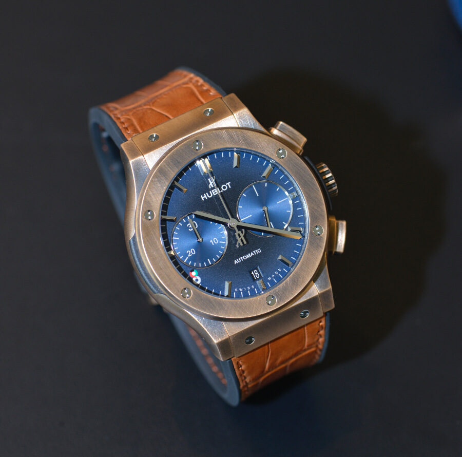Hublot Classic Fusion Chronograph Bronze Watch