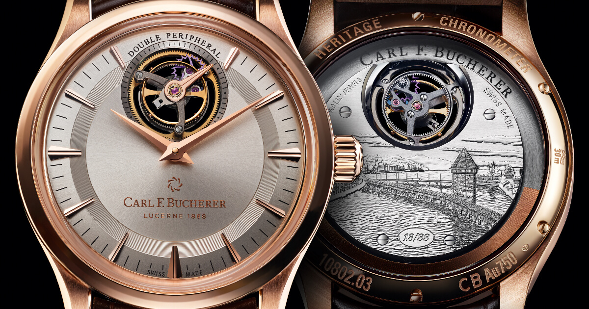 Carl F. Bucherer Heritage Tourbillon Double Peripheral Limited Edition (Pictures and Price)