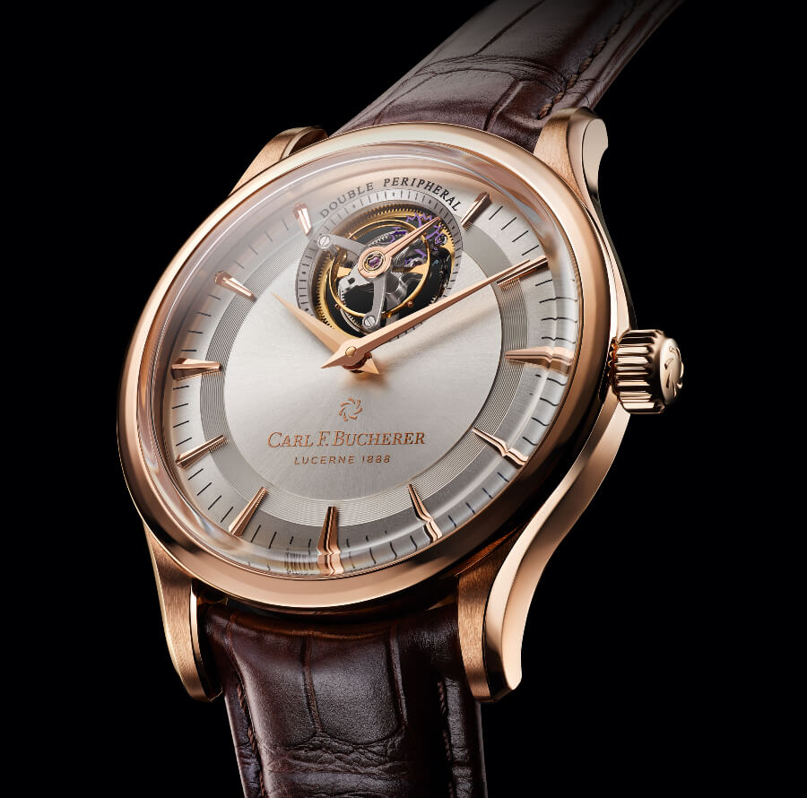 The New Carl F. Bucherer Heritage Tourbillon Double Peripheral Limited Edition