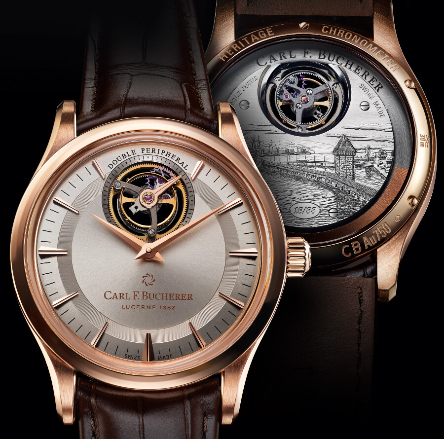 Carl F. Bucherer Heritage Tourbillon Double Peripheral Limited Edition Pictures
