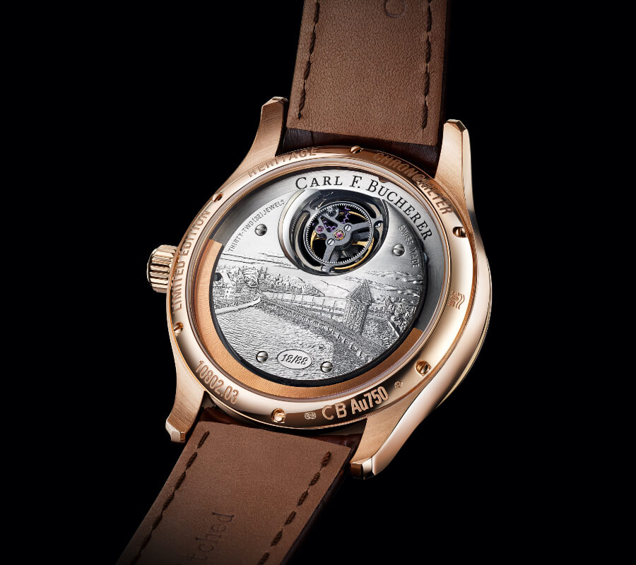 Carl F. Bucherer Heritage Tourbillon Double Peripheral Limited Edition Movement