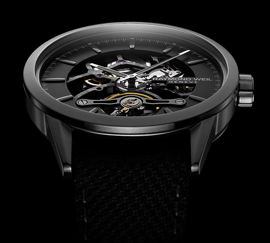 The New Raymond Weil Freelancer Calibre RW1212 Skeleton