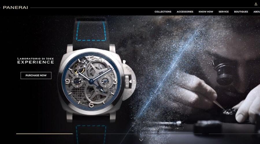 Panerai.com Online Boutique