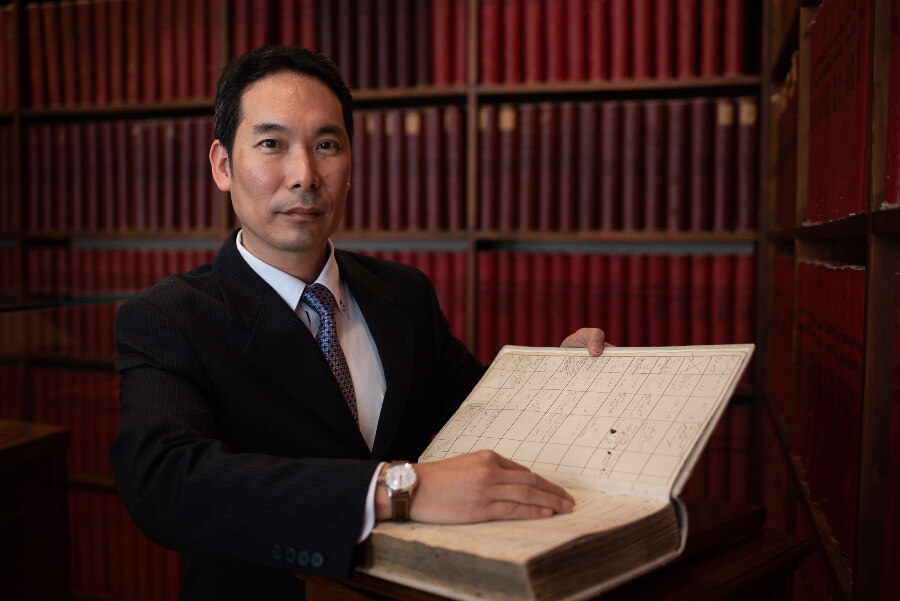 Seiji K., Longines watch collector and owner of the watch number 183