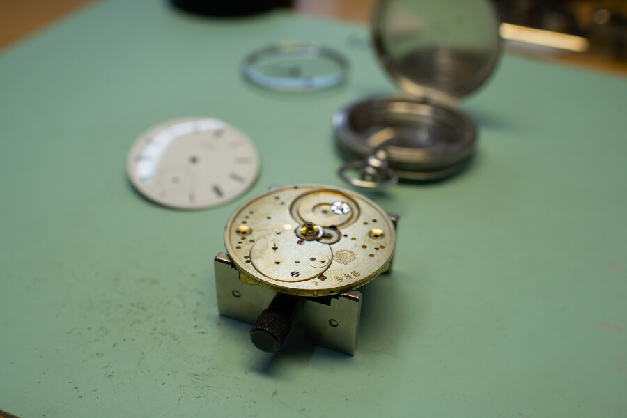 Longines 183 Watch Serving Inspection at Longines Headquarters