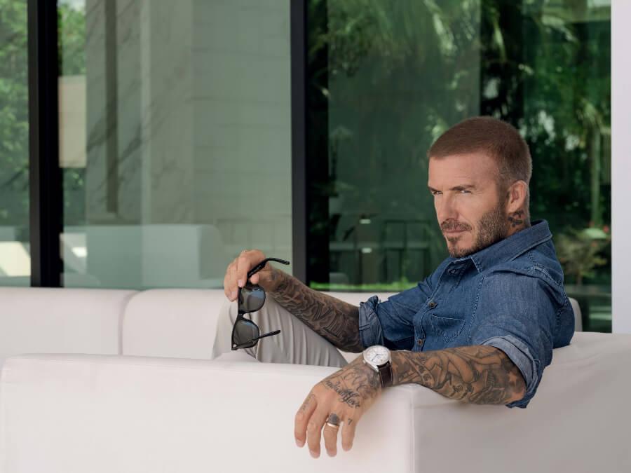 David Beckham Tudor Glamour Double Date