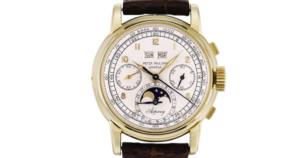 "Patek Philippe Reference 2499 ""The Asprey"" Sold For $3.9 Million"