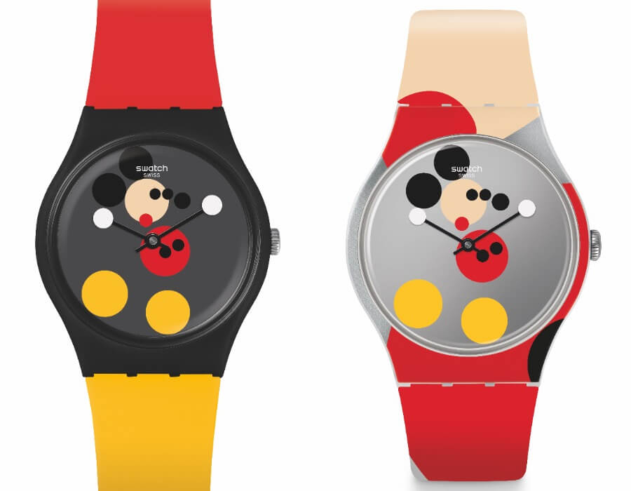 Swatch Spot Mickey and Mirror Spot Mickey