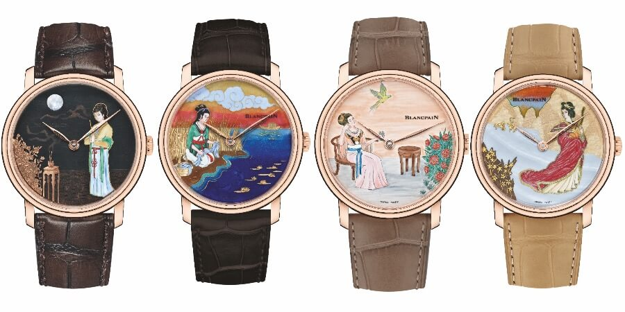 Blancpain Villeret Métiers d'Art Collection