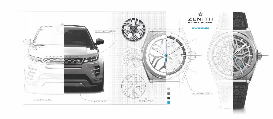 The New Zenith Defy Classic Range Rover Special Edition