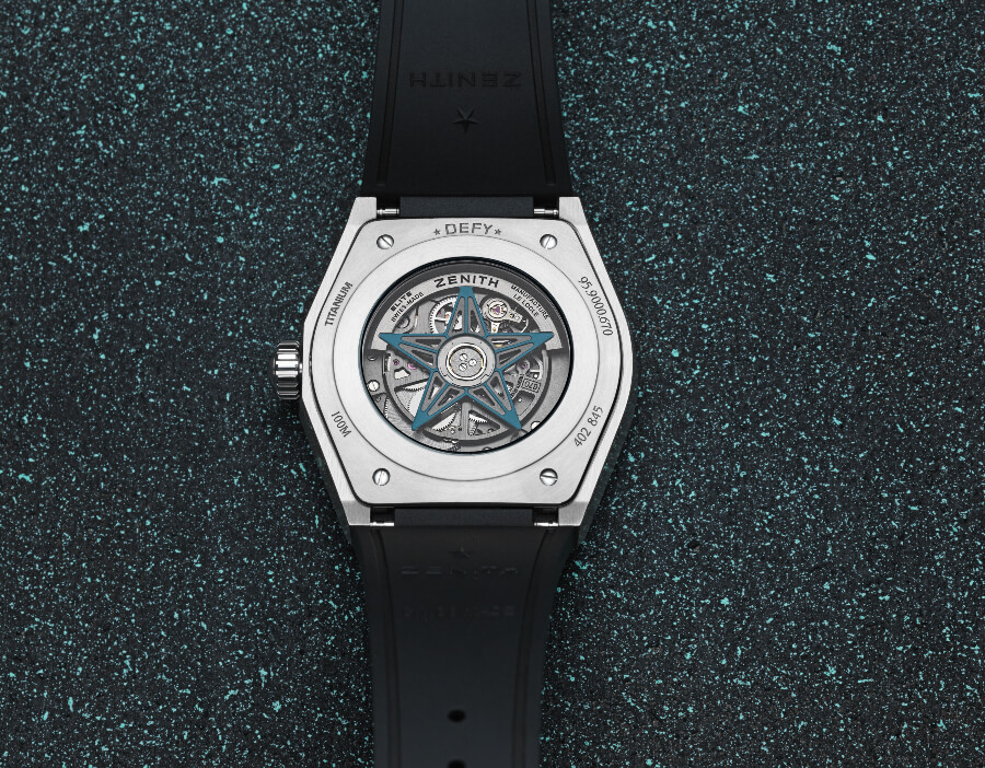 Zenith Defy Classic Range Rover Special Edition Movement