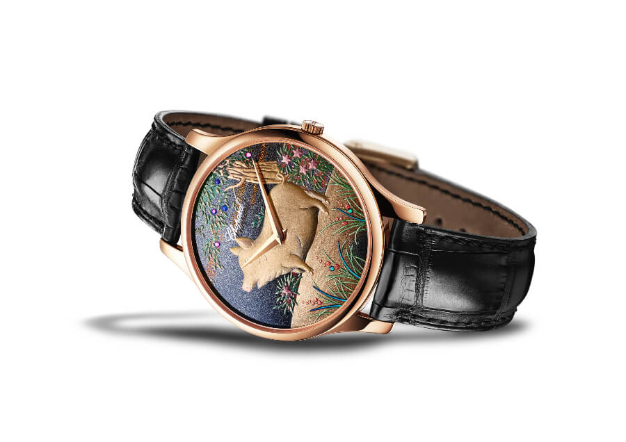 The New Chopard L.U.C XP Urushi Year of the Pig