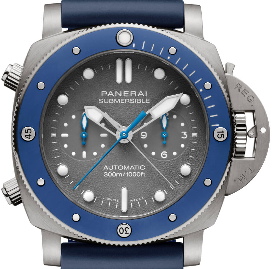 Panerai Submersible Chrono Guillaume Néry Edition