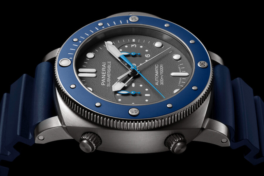 The New Panerai Submersible Chrono Guillaume Néry Edition