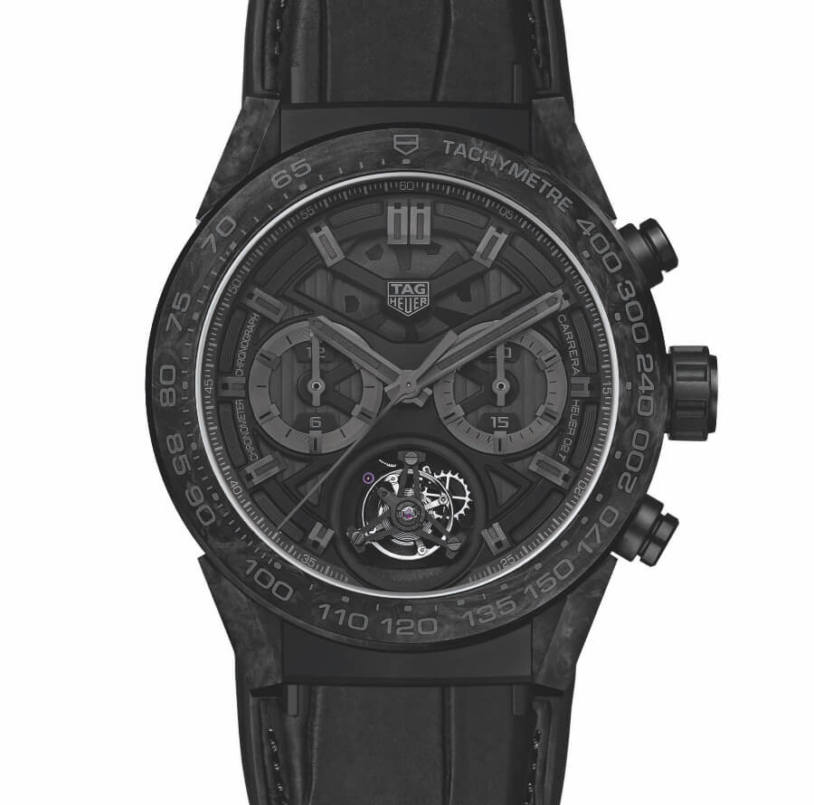 TAG Heuer Carrera Carbon Tourbillon Phantom