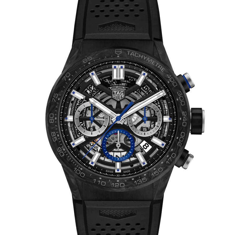 TAG Heuer Carrera Carbon blue rhodium