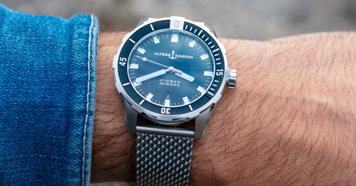 Ulysse Nardin Diver 42 mm (Pictures and Prices)