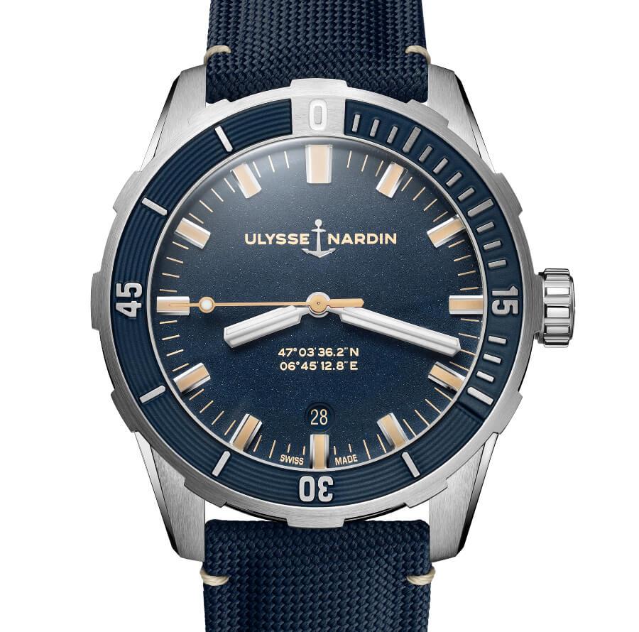Ulysse Nardin Diver 42 mm Blue Dial