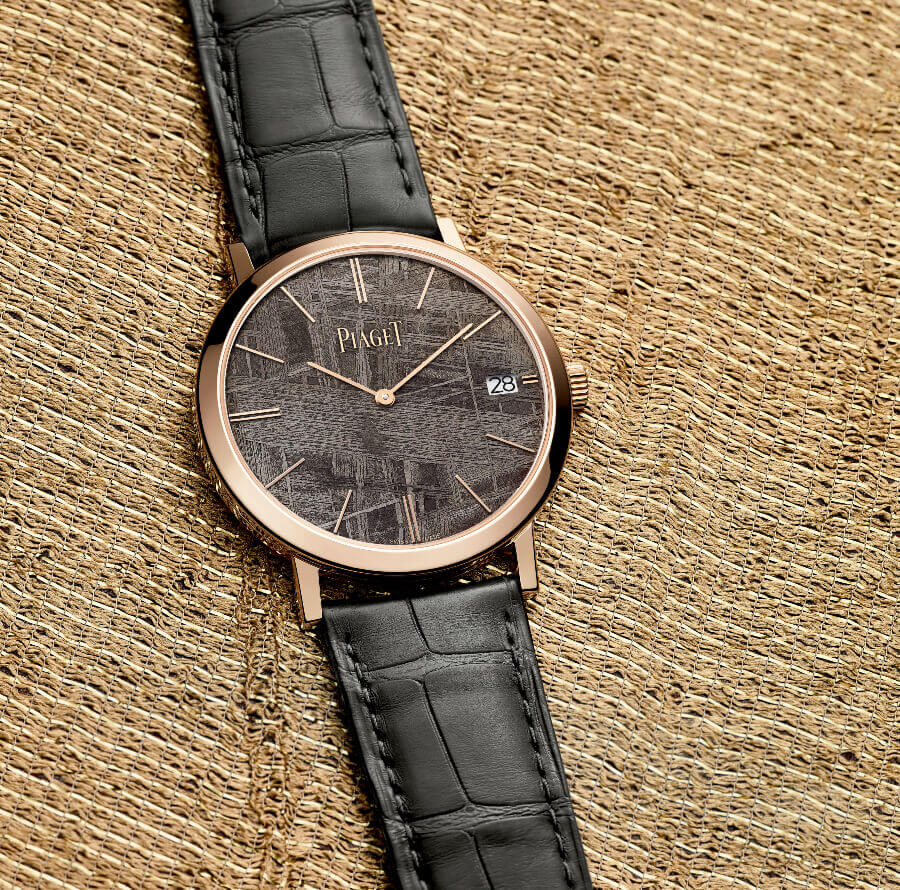 The New Piaget Altiplano with grey meteorite dial G0A44051