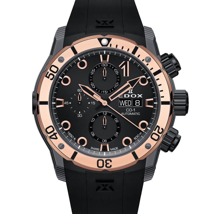 Edox Co-1 Carbon Chronograph Automatic