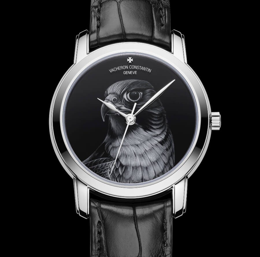 Vacheron constantin Les Cabinotiers Grisaille: A falcon to tame time
