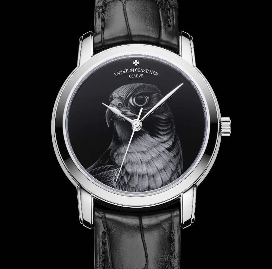Vacheron constantin Les Cabinotiers Grisaille: A falcon to tame time