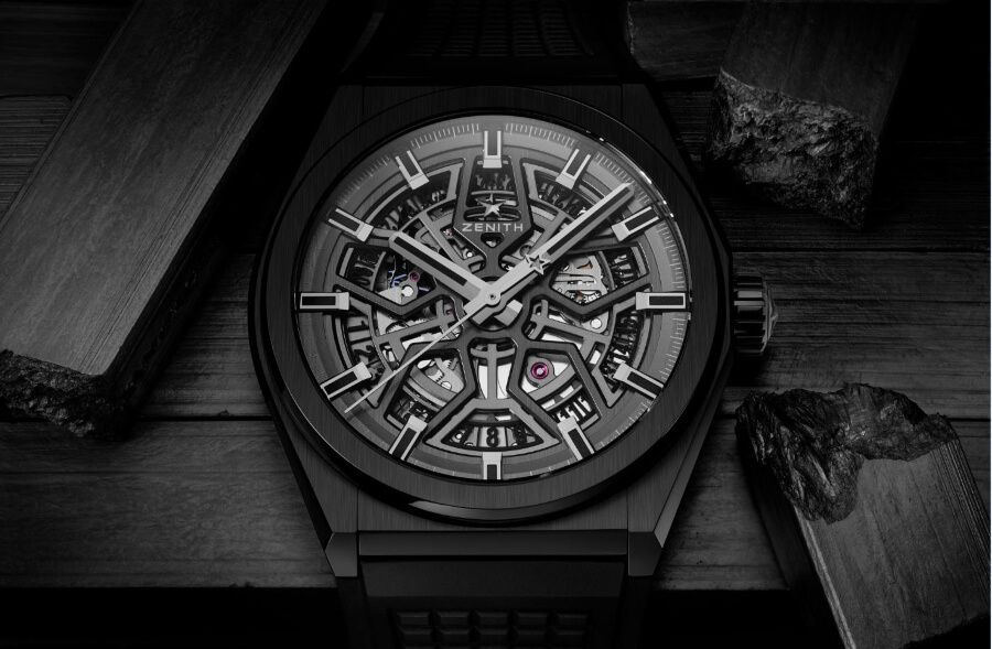 Zenith Defy Classic Black Ceramic Watch Review