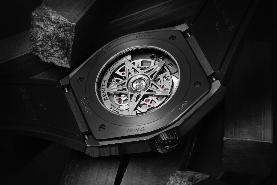 Zenith Defy Classic Black Ceramic Movement