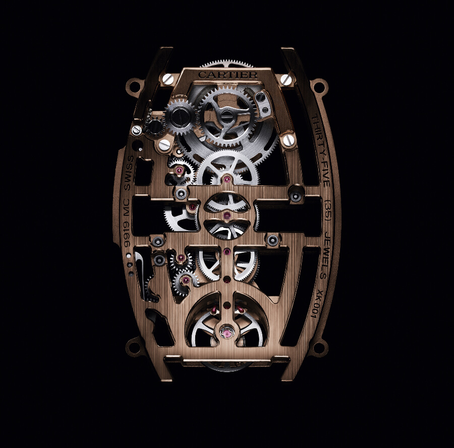 Cartier Manual Movement