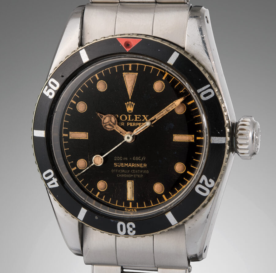 "Rolex ""Big Crown"" Ref. 6538  ""James Bond"" Submariner"
