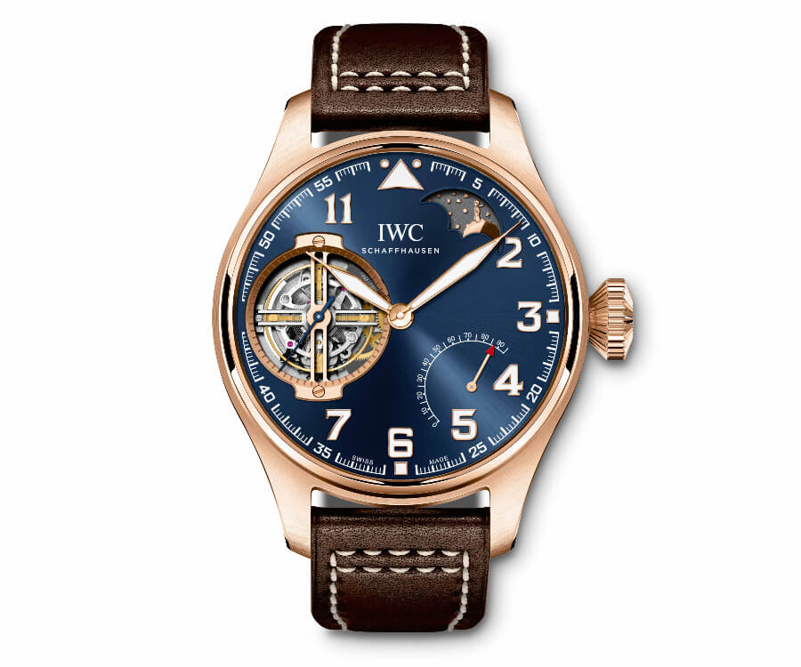 IWC Men Watch Tourbillon