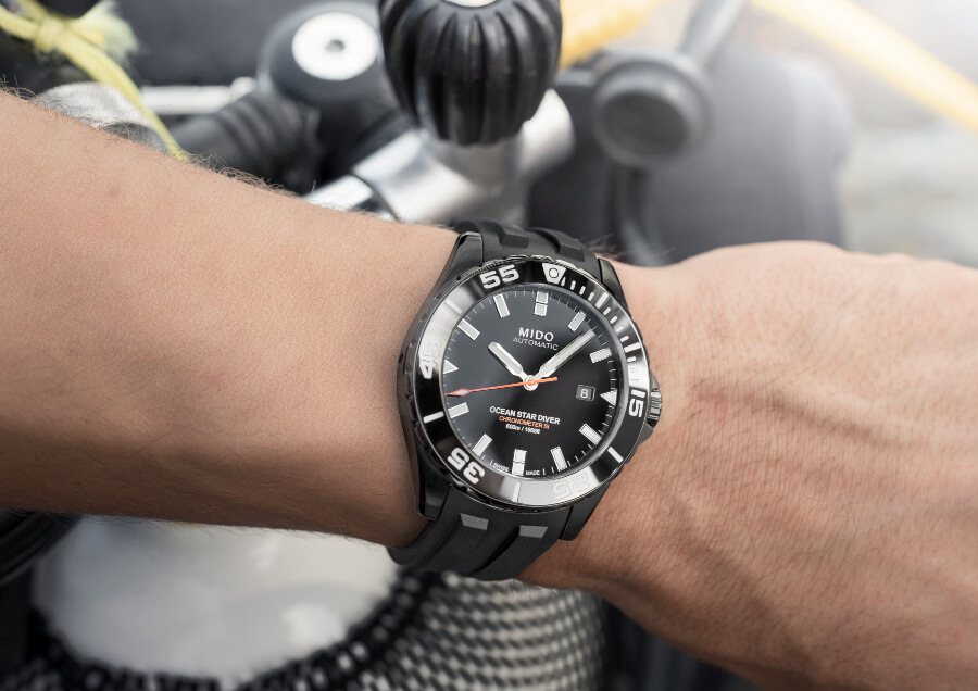 The New Mido Ocean Star Diver 600