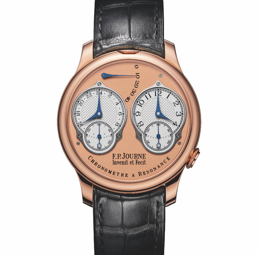 F.P. Journe Chronometre A Resonance With Analog 24 Hour Display