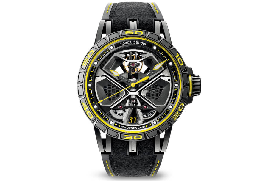 SIHH 2019 Roger Dubuis Excalibur Huracan Performante