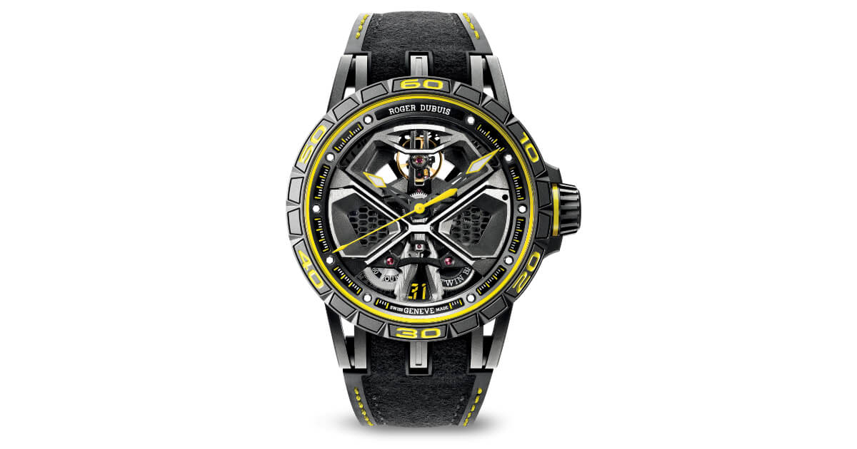 Pre SIHH 2019: Roger Dubuis Excalibur Huracan Performante