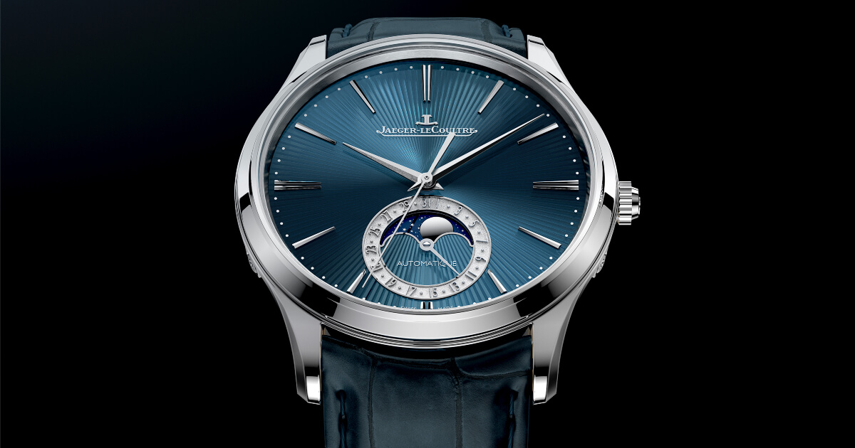 Pre SIHH 2019: Jaeger LeCoultre Master Ultra Thin Moon Enamel