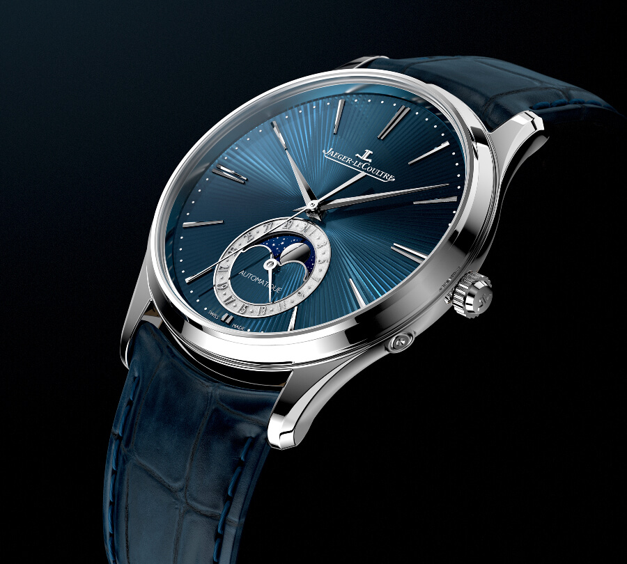 The New Jaeger LeCoultre Master Ultra Thin Moon Enamel