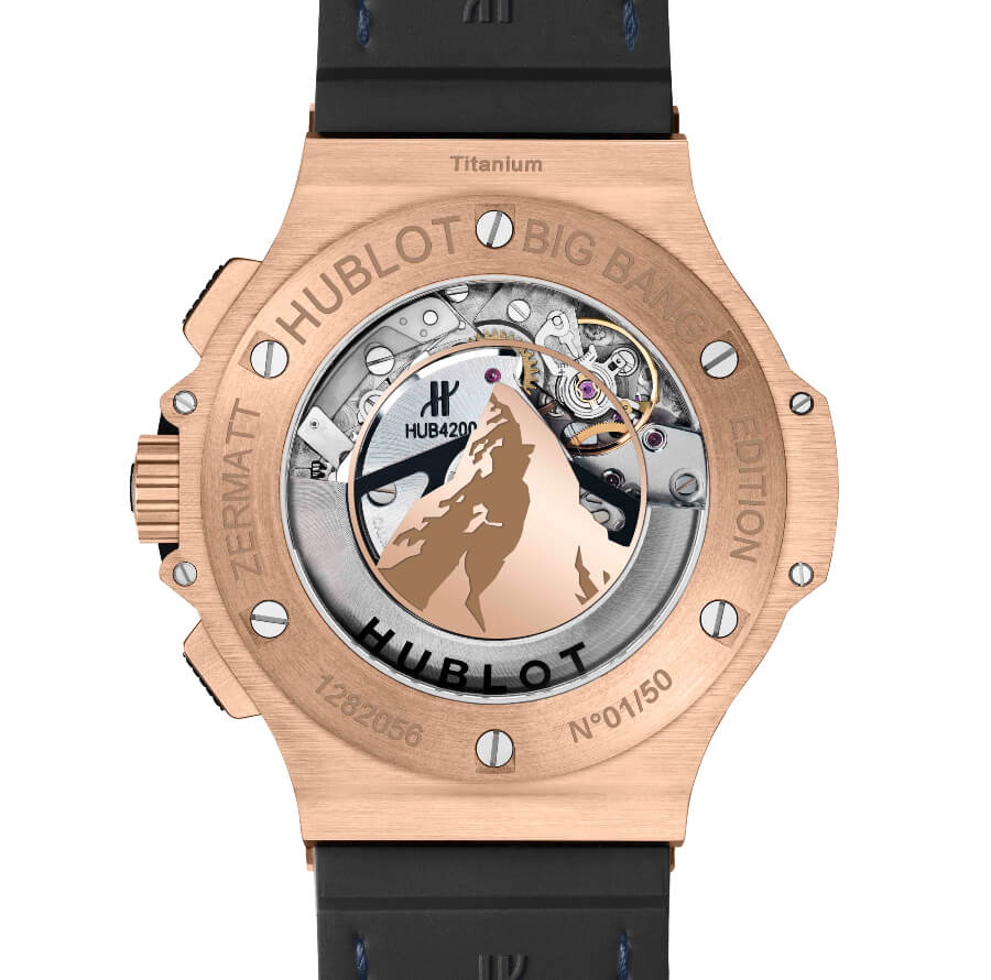 Hublot Big Bang Zermatt Movement