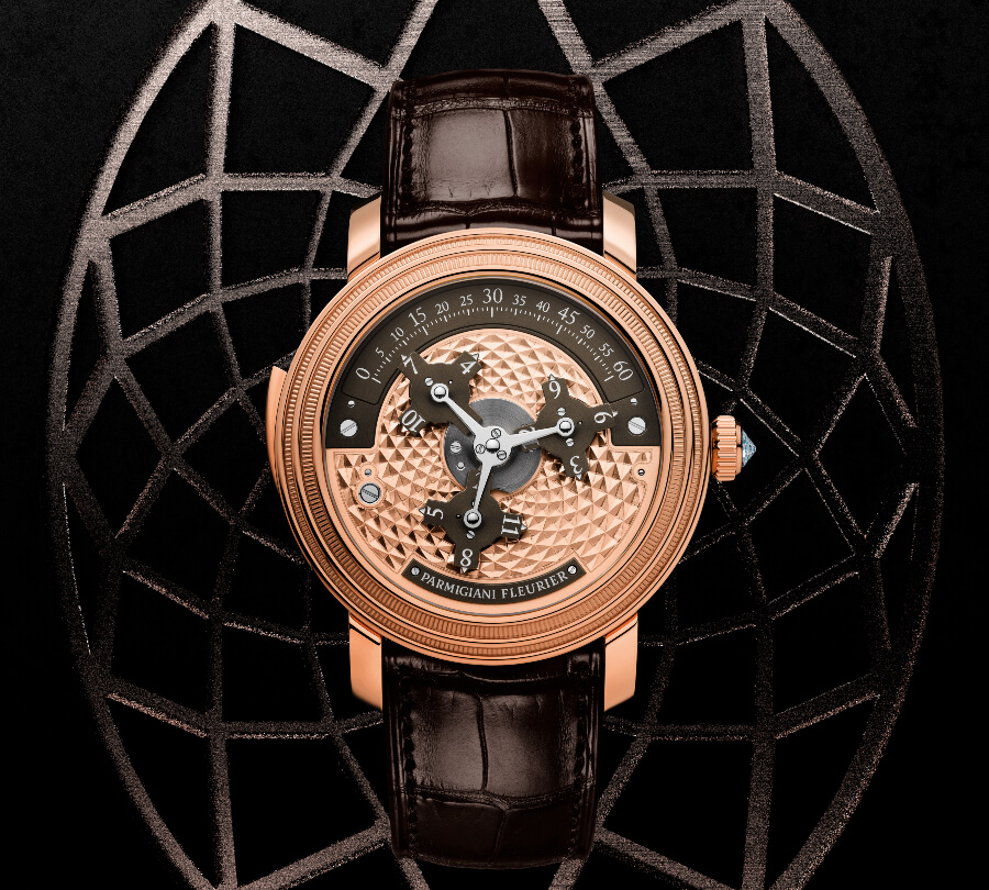 SIH 2019 Parmigiani Toric Capitole Rose Gold Brown
