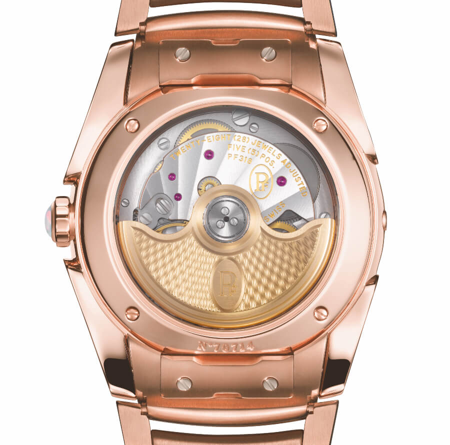 Parmigiani Tonda Metropolitaine Selene Rose Gold Movement