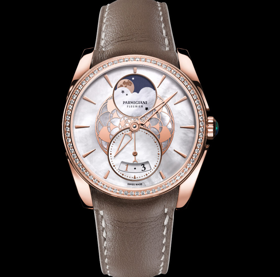 The New Parmigiani Tonda Metropolitaine Selene Rose Gold