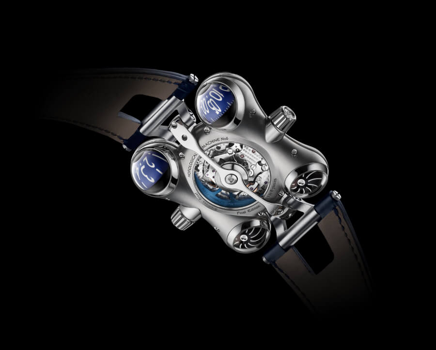 The New MB&F Horological Machine N°6 Final Edition