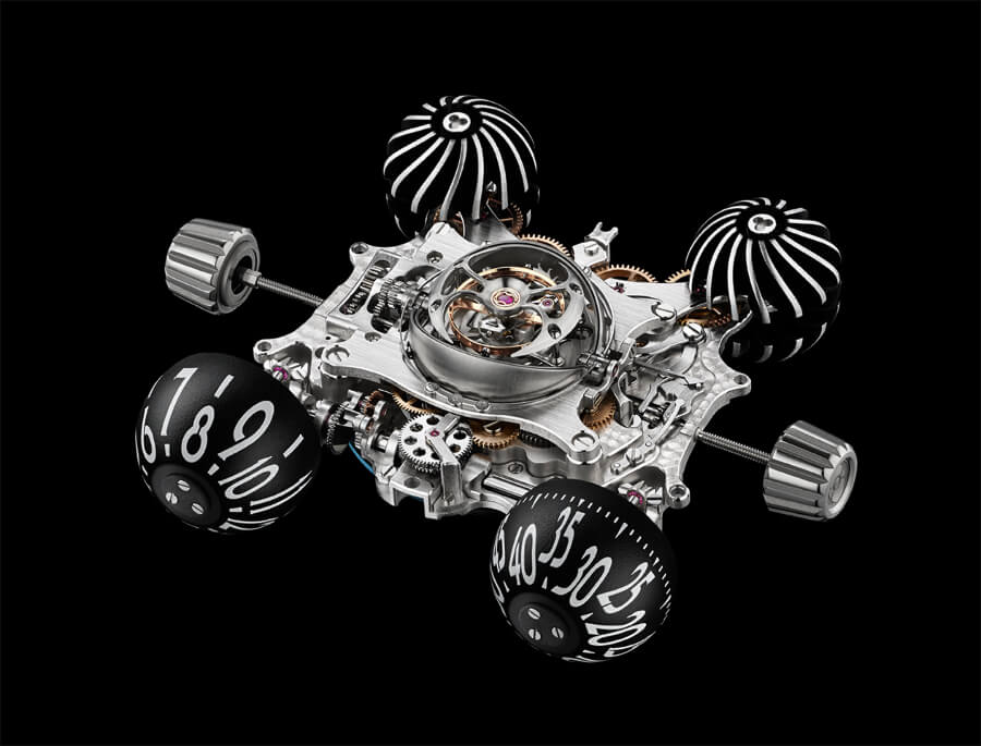 MB&F Horological Machine N°6 Final Edition Movement