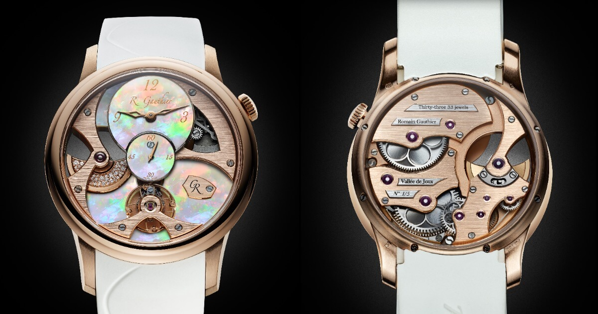 Romain Gauthier Insight Micro-Rotor Lady Opal