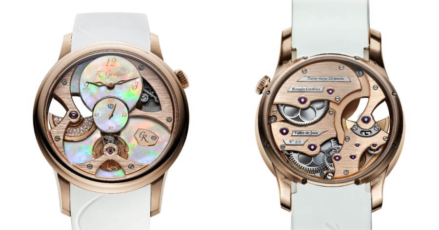 Romain Gauthier Gold Watch