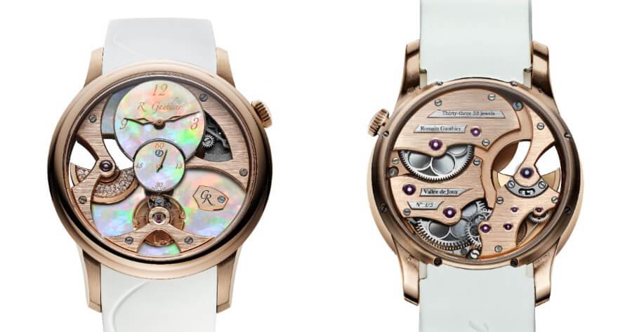 Romain Gauthier Gold Watch