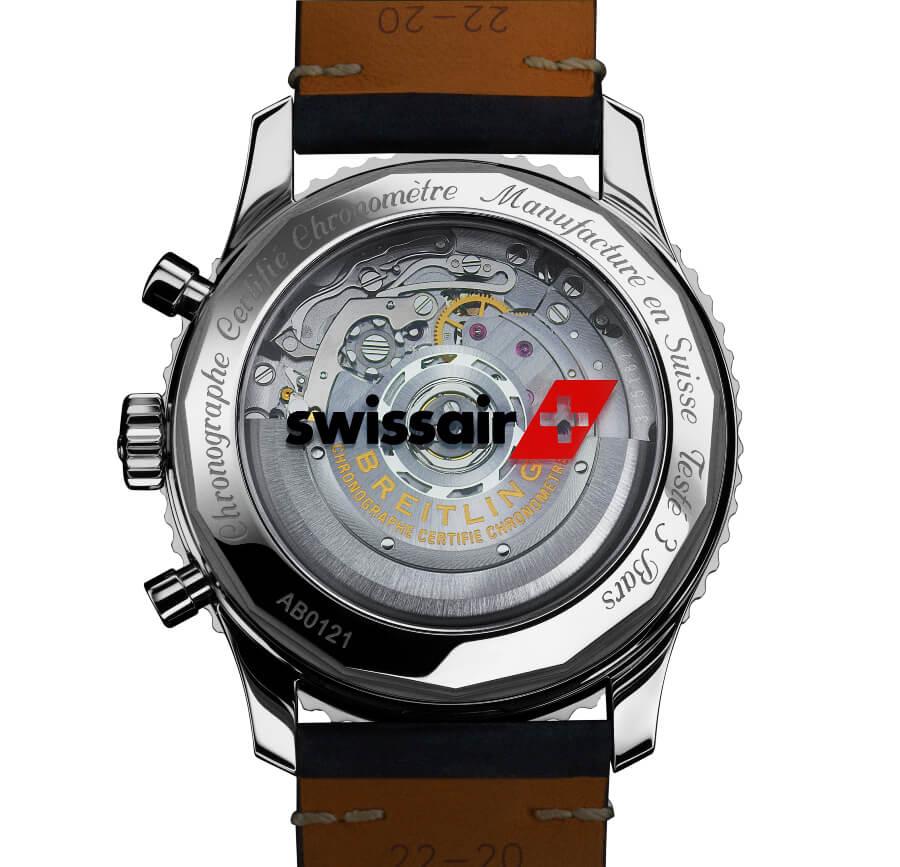 Breitling Navitimer 1 B01 Chronograph 43 Swissair Edition Movement