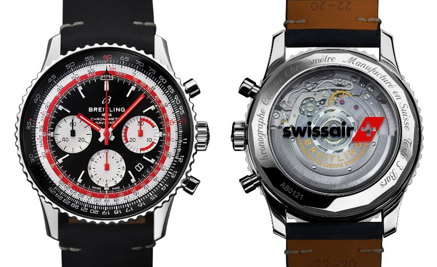 The New Breitling Navitimer 1 B01 Chronograph 43 Swissair Edition