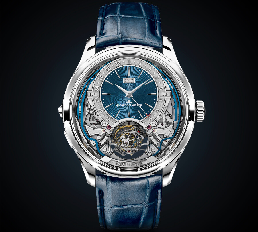 The New Jaeger-LeCoultre Master Grande Tradition Gyrotourbillon Westminster Perpétuel
